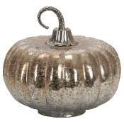 Foil Glass Lustre Mercury Pumpkin Thumbnail