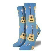 Acoustic Guitars Socks - Cornflower Blue Thumbnail
