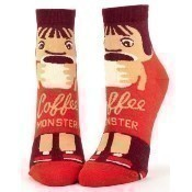 Coffee Monster Ankle Socks Thumbnail
