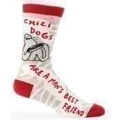 Chili Dogs Men's Socks Thumbnail