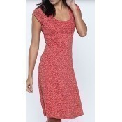 Nena Dress - Spiced Coral Geo Print Thumbnail