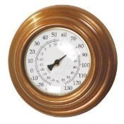 Conant Custom Brass Wall Thermometer Thumbnail