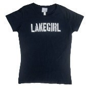 Simply Lakegirl Tee Shirt - Navy Thumbnail