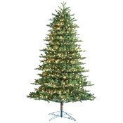 Noble Fir Deluxe 7.5' Pre Lit Clear Lights Thumbnail