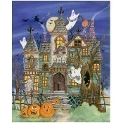 Haunted House Jigsaw Puzzle Thumbnail