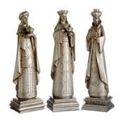 Antique Silver Three Kings Thumbnail