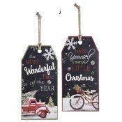 Christmas Tag Wall Decor Thumbnail