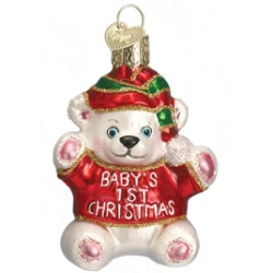 Babys First Christmas Ornament Collectible Ornaments
