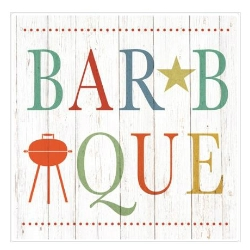 summer barbecue beverage napkins stationery paper gifts