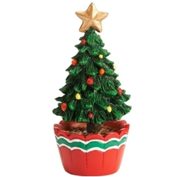 Mini Potted Christmas Tree Garden Accessories