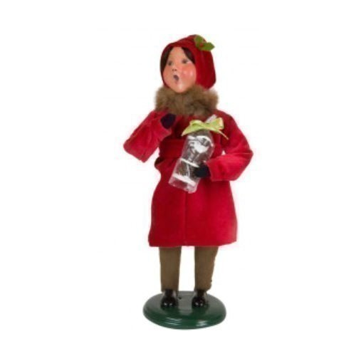 Victorian Girl with Santa Thumbnail