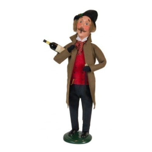 Victorian Man with Wine Thumbnail