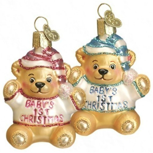 Baby's First Teddy Bear Ornament Thumbnail