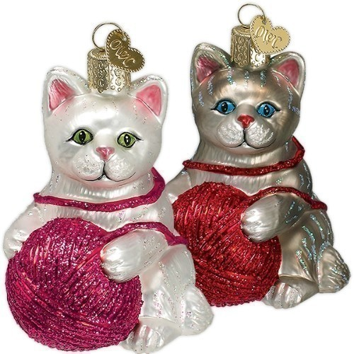 - Playful Kitten Ornament Thumbnail