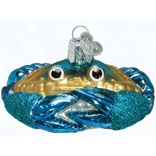 Blue Crab Ornament Thumbnail