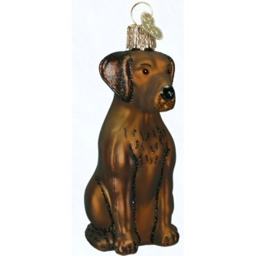 - Chocolate Lab Ornament Thumbnail