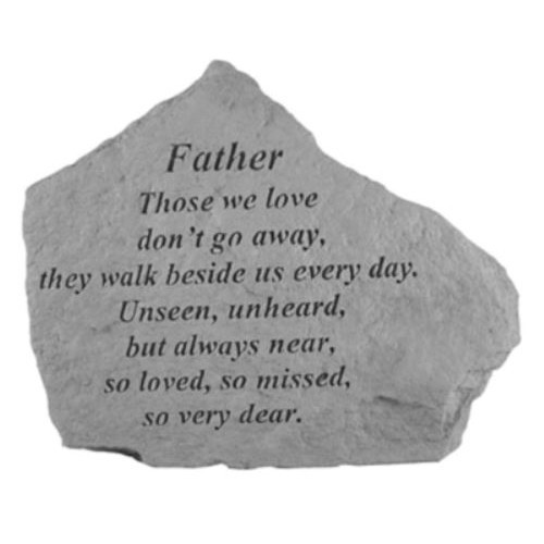 Father Those We Love Memorial Stone Thumbnail