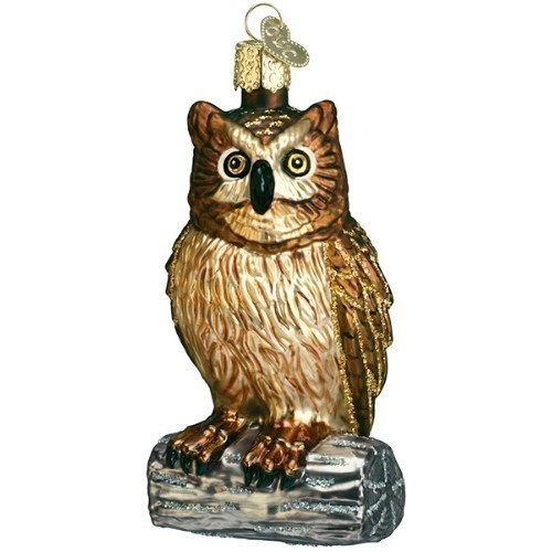 Wise Old Owl Ornament Thumbnail