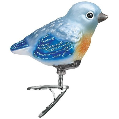 Baby Bluebird Ornament Thumbnail
