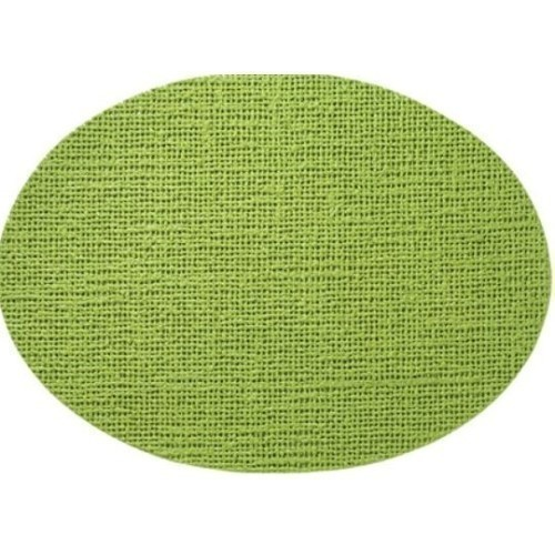 Fishnet Oval Placemat - Lime Green Thumbnail