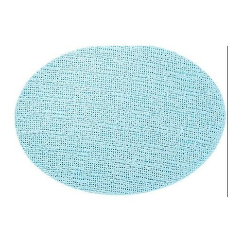 Fishnet Oval Placemat - Mist Blue Thumbnail