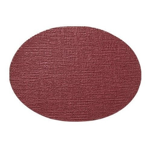 Fishnet Oval Placemat - Burgundy Thumbnail