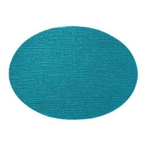 Fishnet Oval Placemat - Teal Thumbnail