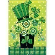 Blooming Irish Garden Flag Thumbnail