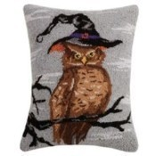 Halloween Owl Pillow Thumbnail