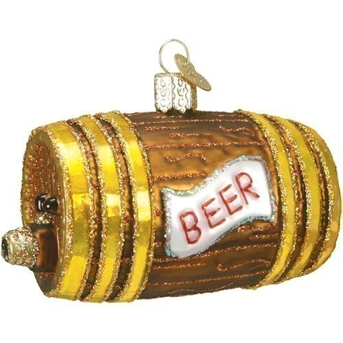 Beer Keg Ornament Thumbnail