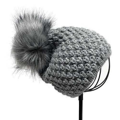 Beanie - Light Gray  Thumbnail