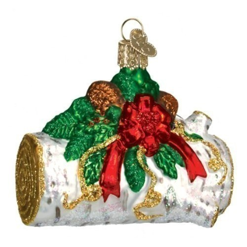 Yule Log Ornament Thumbnail