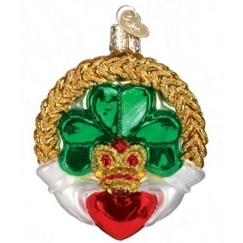 Old World Christmas - Claddagh Ornament  Thumbnail