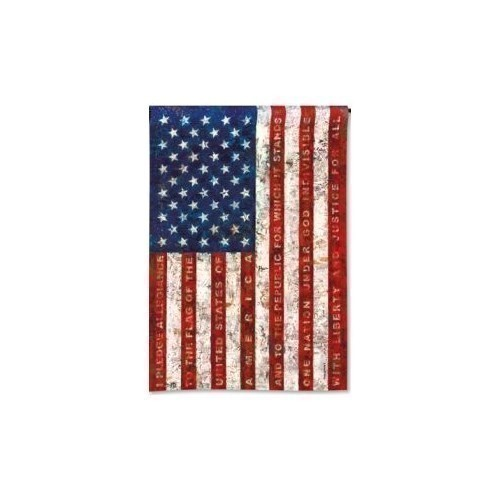 Pledge of Allegiance Garden Flag Thumbnail