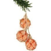 Jute Glass Cluster Ornament Thumbnail