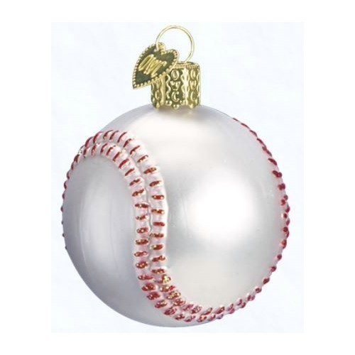 Baseball Ornament  Thumbnail