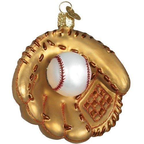 Baseball Mitt Ornament Thumbnail
