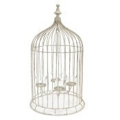 Bird Cage Tea Light Candle Holder Thumbnail