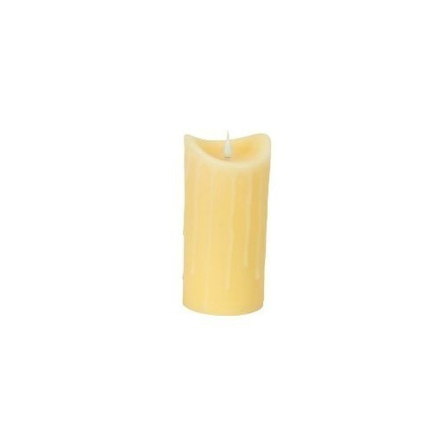 Dripping Candle - Ivory - 7'' Thumbnail