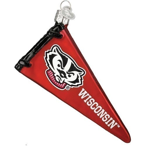 Wisconsin Pennant Ornament Thumbnail