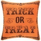 Goth Trick or Treat Pillow Thumbnail