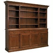 Large Oak Country Manor Open Hutch Thumbnail