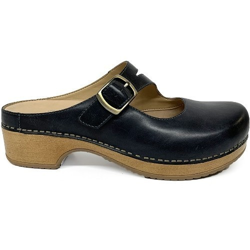 Dansko - Brenda - Waxy Burnished Navy Thumbnail
