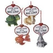 Little Pets Give Big Love Ornament Thumbnail