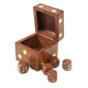 Dice Box with Dice Thumbnail
