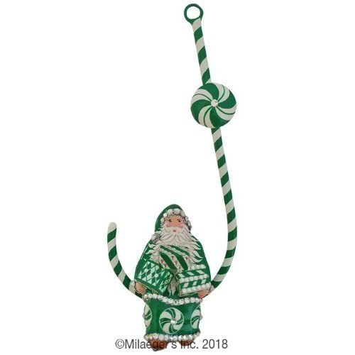 Candied Claus - Green & White Thumbnail