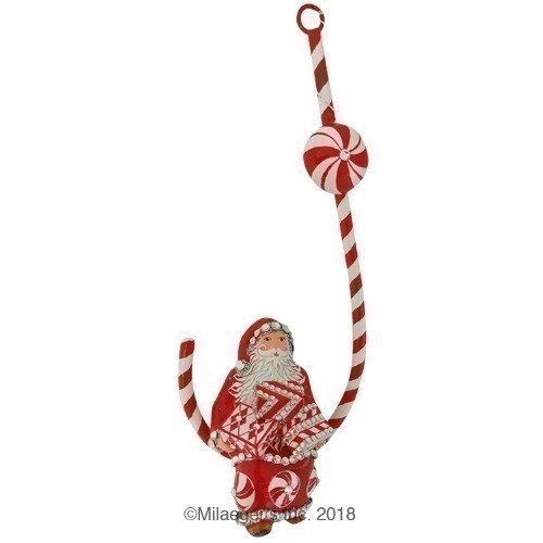 Candied Claus - Red & White Thumbnail