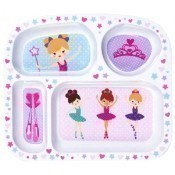 Melamine Divided Tray - Twinkle & Twirl Thumbnail
