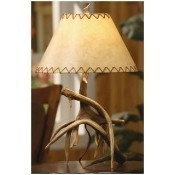Antler Table Lamp Thumbnail