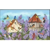 Birds and Lilacs Doormat Thumbnail